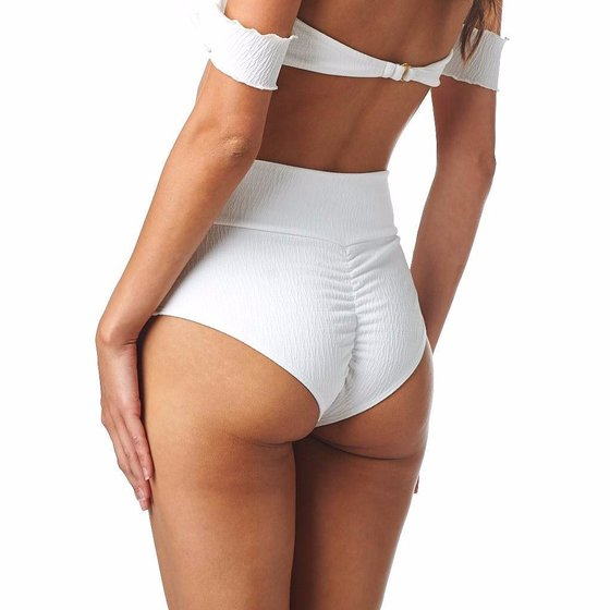 Montce Swim Blanc Added Coverage High Rise Bottom
