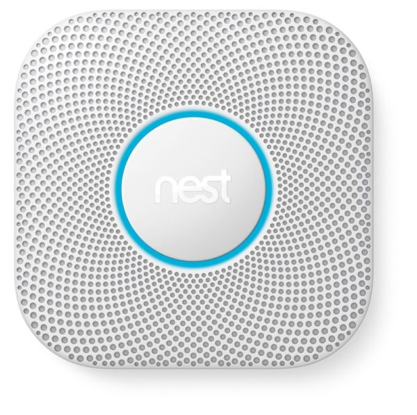 Nest Protect Smoke + Carbon Monoxide Alarm, 2nd Gen (Wired)